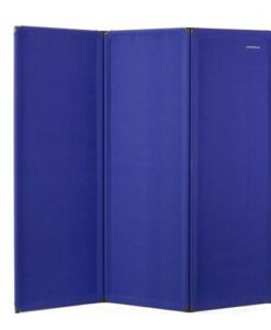 FP6 Economy Freestanding Portable Partition Blue