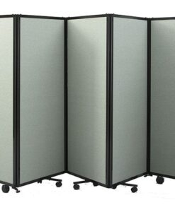 360 Acoustic Portable Room Divider Folding Fabric