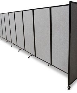360 Acoustic Portable Room Divider Long Fabric