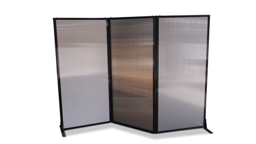 Afford-A-Wall Folding Room Divider Polycarbonate