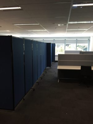 Office Partitions with mobility give Award Mortgage the flexibility they need