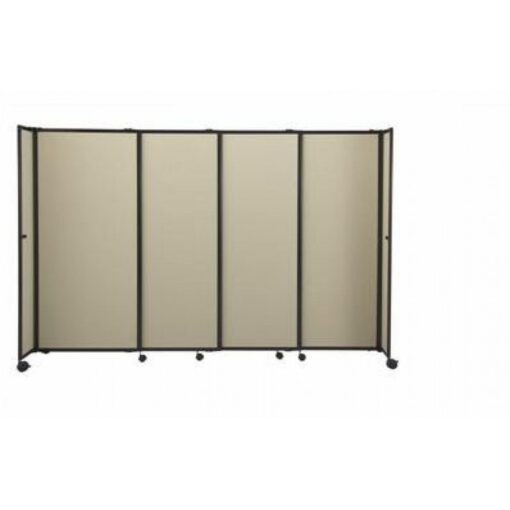 StraightWall Acoustic Portable Partition Beige Fabric