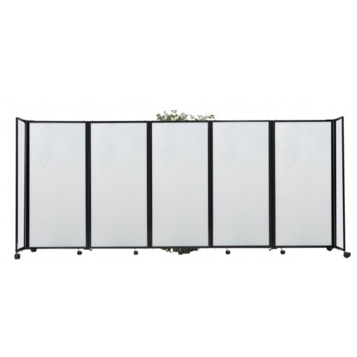 StraightWall Acoustic Portable Partition Opal Polycarbonate