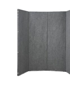 Versifold Acoustic Portable Room Grey Divider