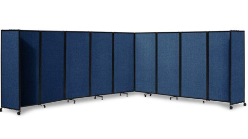 360 Acoustic Portable Room Divider Fabric Navy