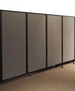 360 Acoustic Room Divider Wall-Mountable Fabric