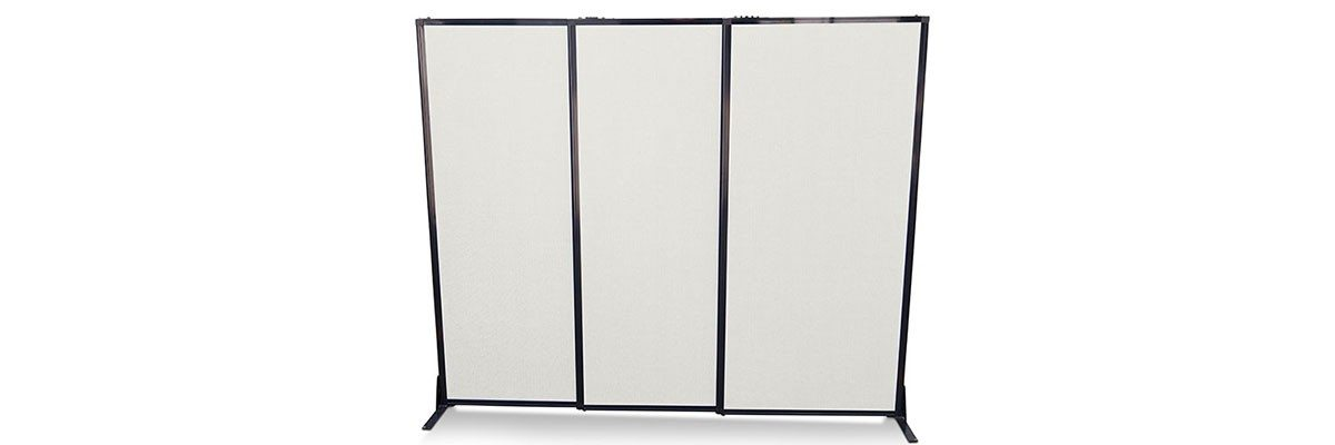 Afford-a-Wall Sliding Room Divider Polycarbonate