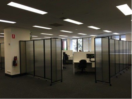 polycarbonate office partitions
