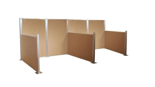Desk Partitions and Cubicles