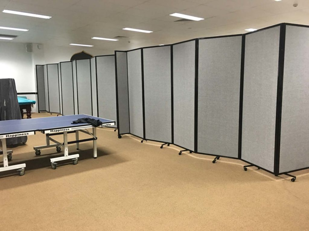 Large Acoustic Dividers